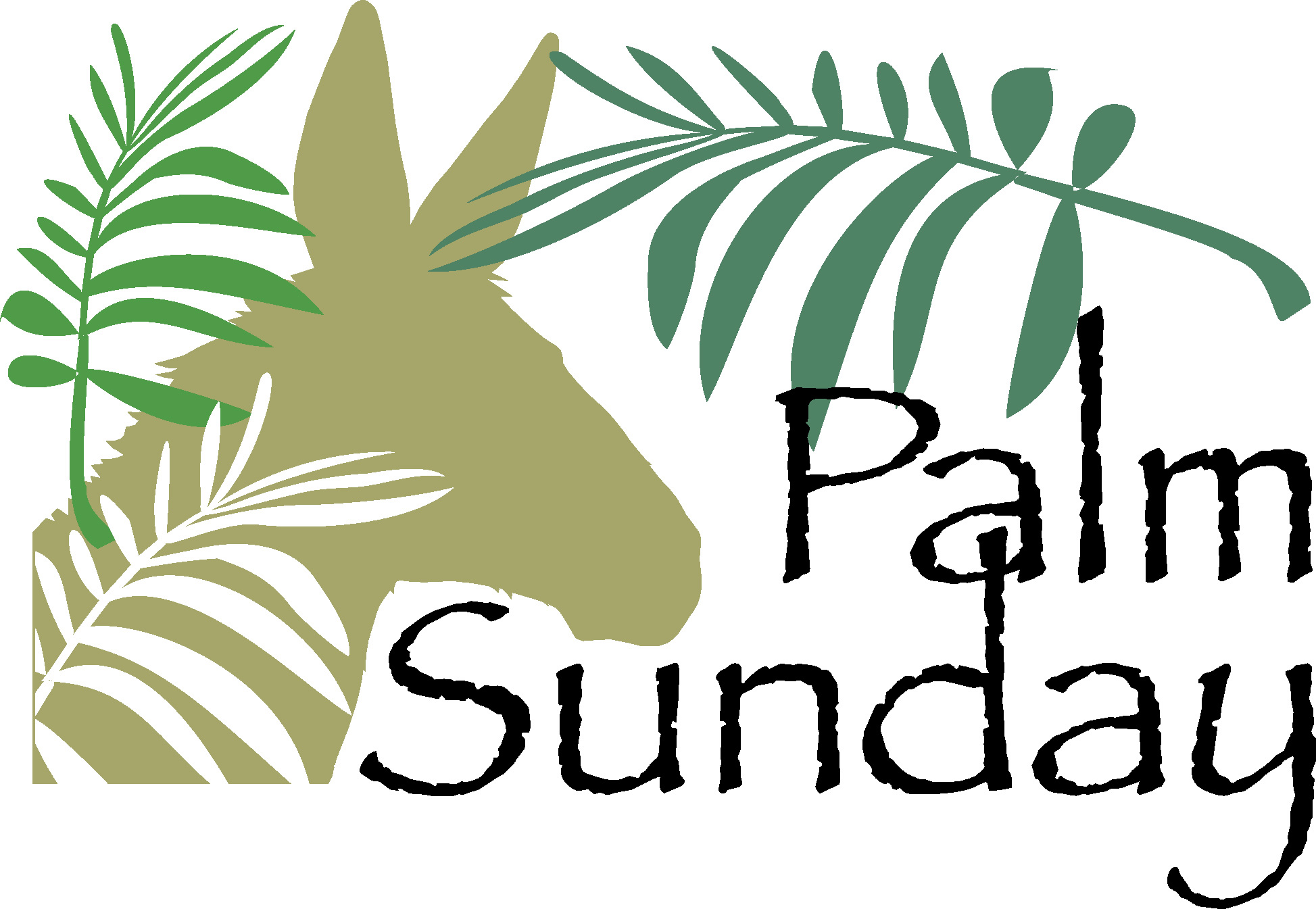 Sunday clipart palmpassion. Palm for kids lglc