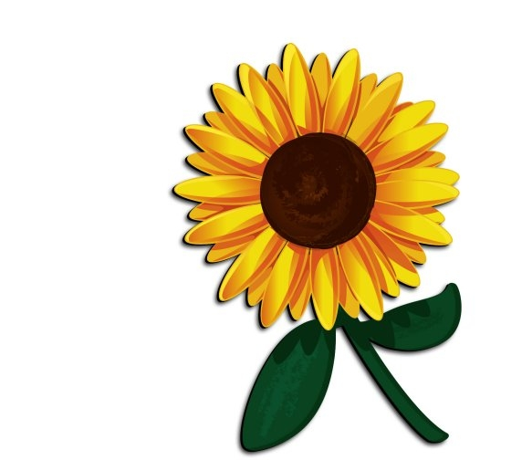 Sunflower clipart. At getdrawings com free