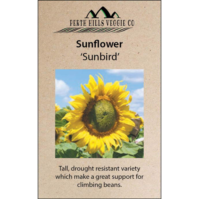 Sunflower clipart tall sunflower. Flower seed packets perth