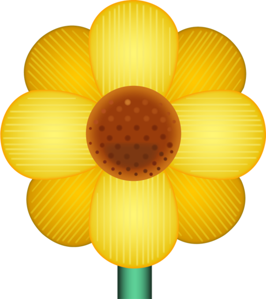 Sunflower emoji png. Download yellow blossom image