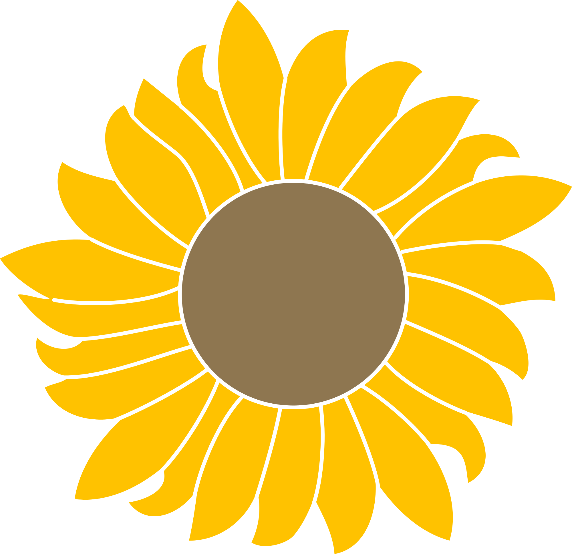 Sunflower logo png. Image from mediawiki reworked