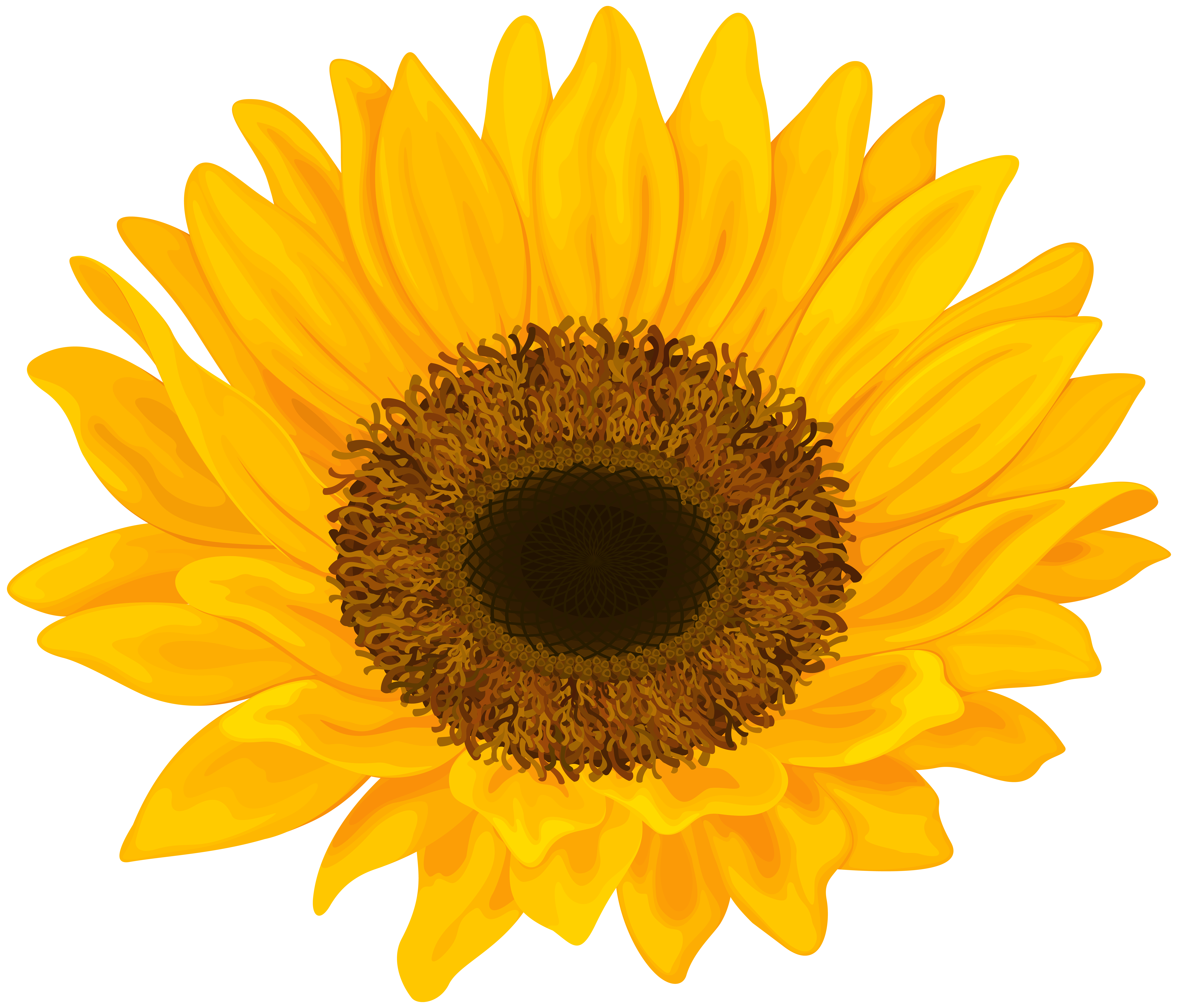 Sunflower png art. Clip image gallery yopriceville
