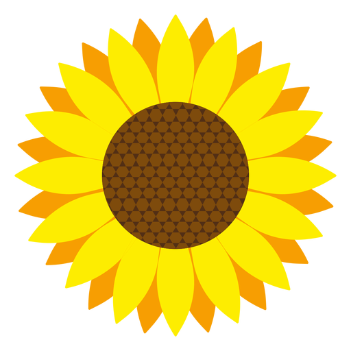 Sunflower silhouette png. At getdrawings com free