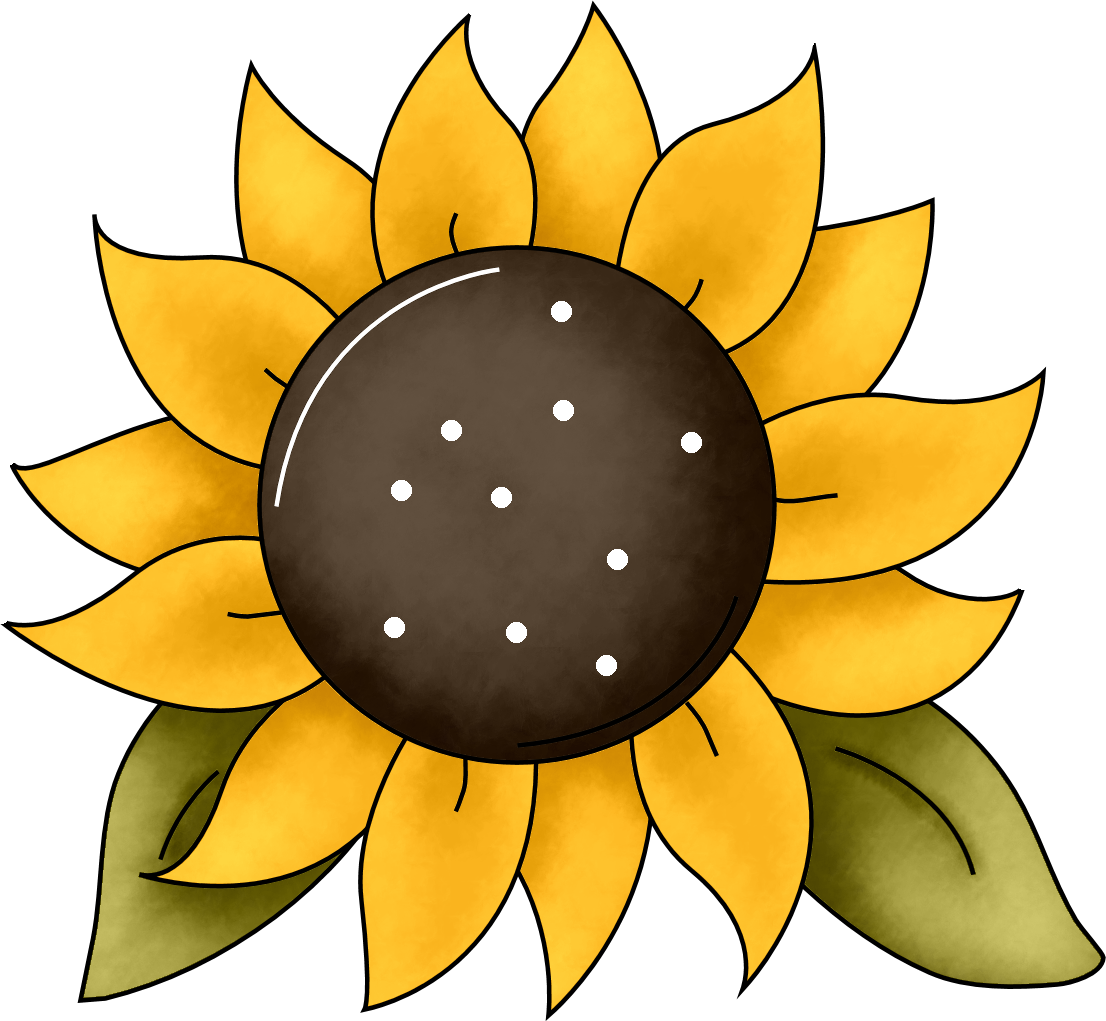Sunflowers clipart simple. Gallery free sunflower cut