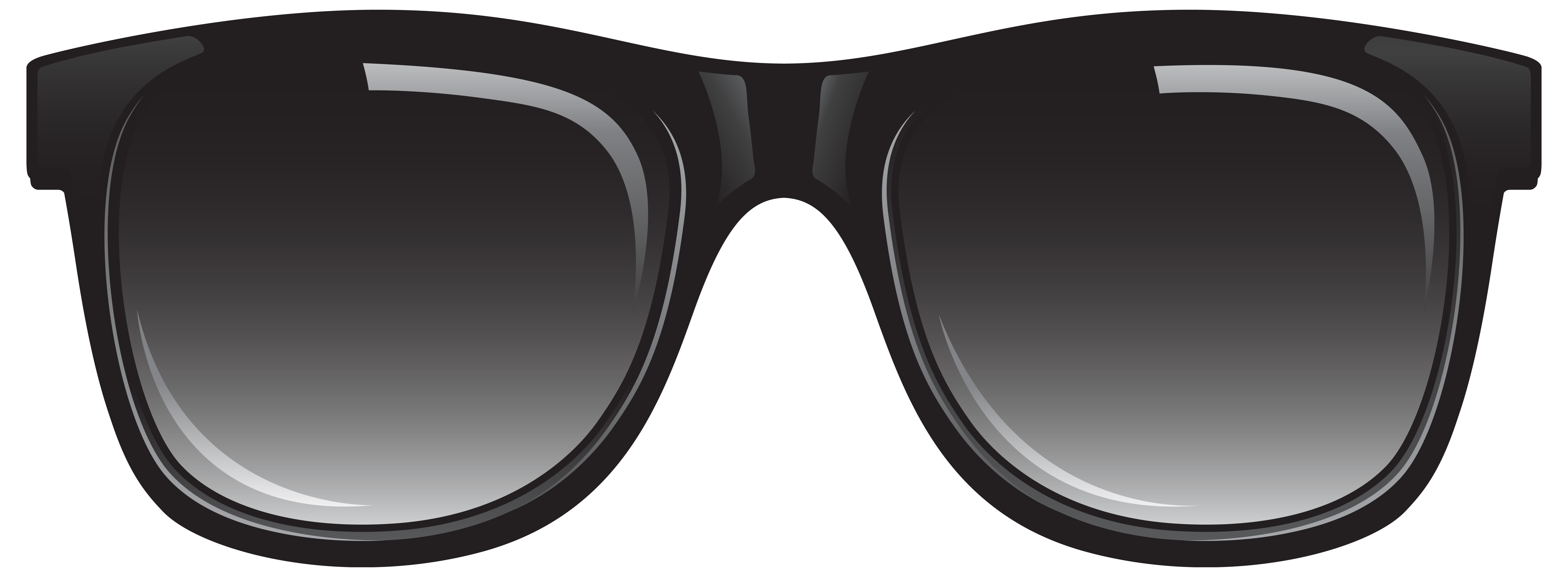 Goggles vector black and white. Sunglasses png clipart image