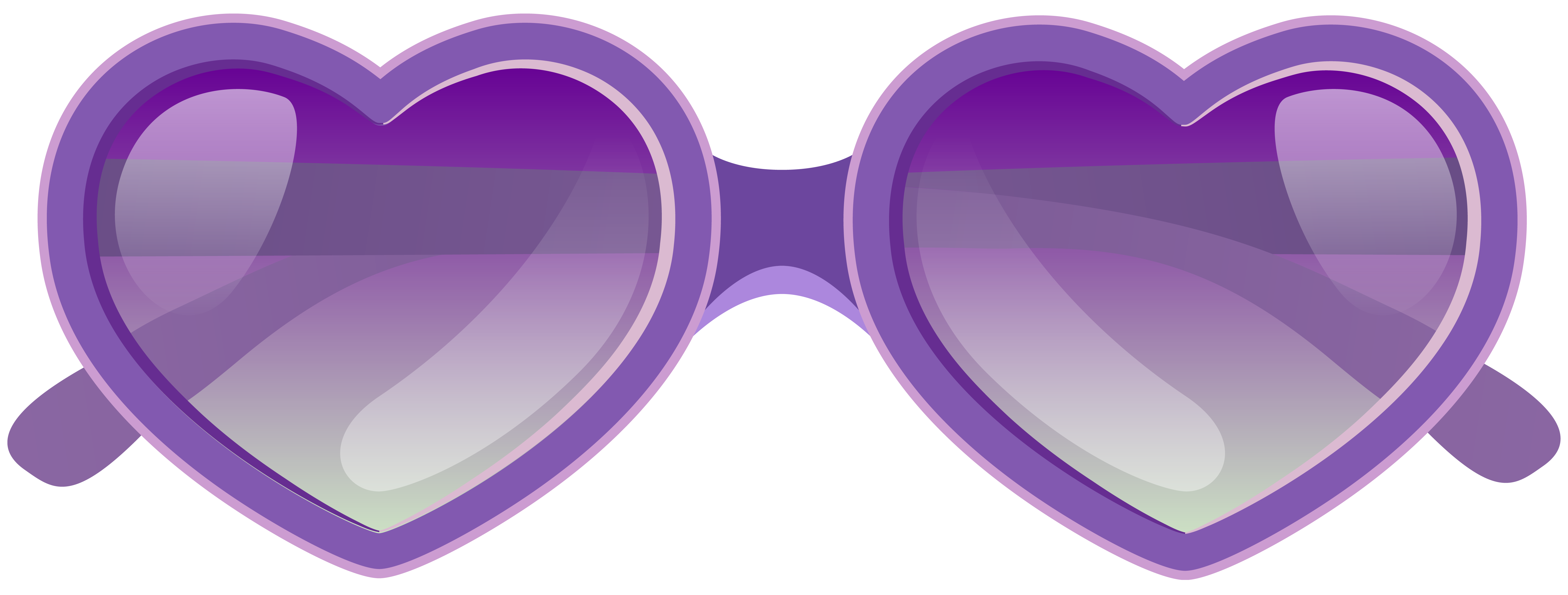 Purple heart sunglasses png. Goggles clipart vector graphic royalty free