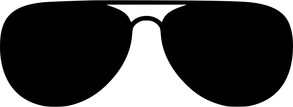 Transparent aviators svg. Sunglasses aviator png icon