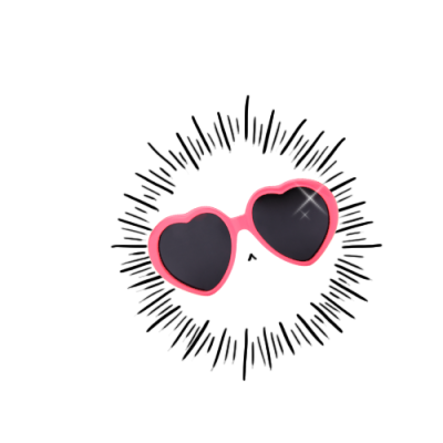 Sunglasses clipart glass tumblr. Transparent valentines day is