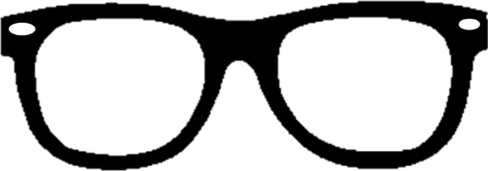 Sunglasses clipart glass tumblr. Glasses dark blackandwhite lentes