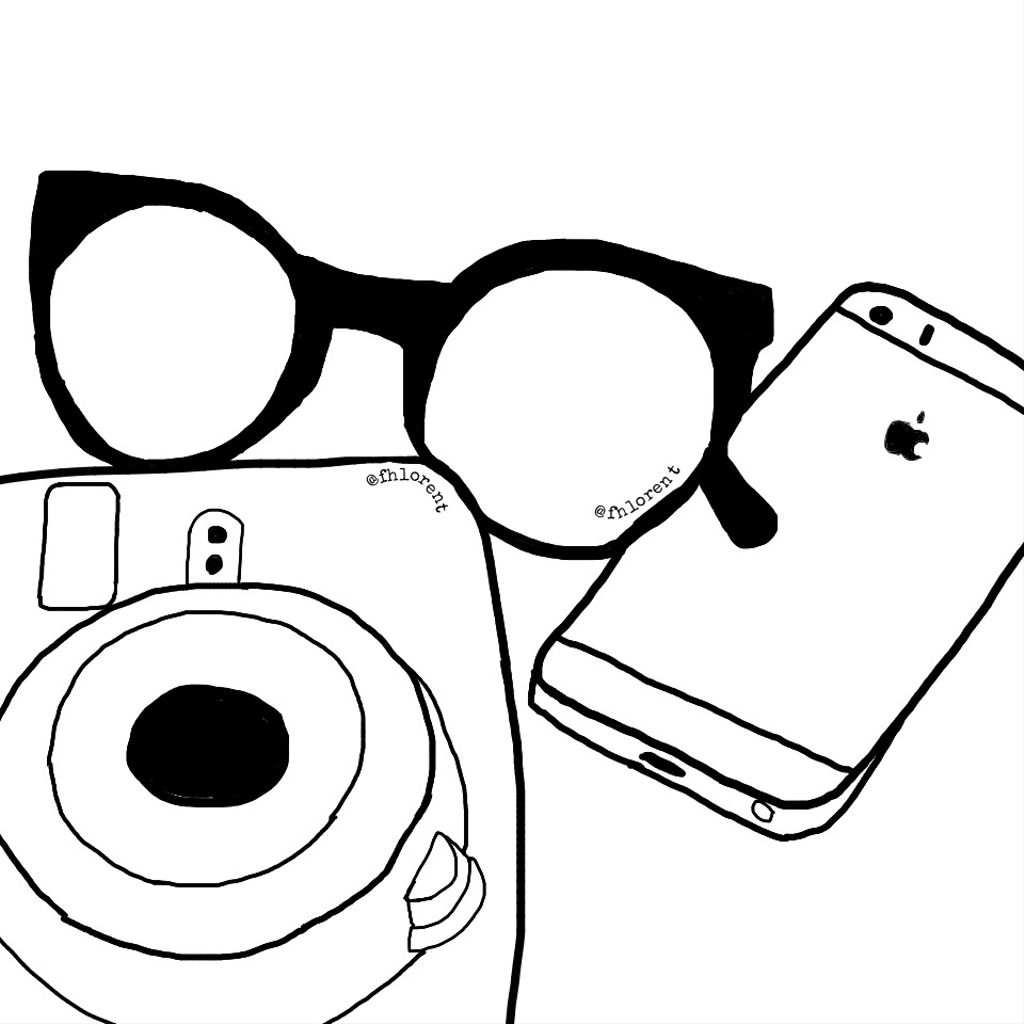 Sunglasses clipart glass tumblr. Outline tumblroutline outlinetumblr drawing