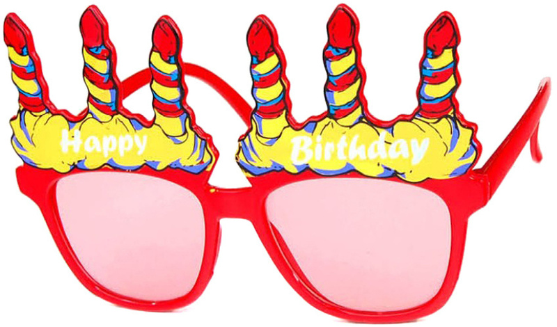 Sunglasses clipart party. Happy birthday glasses just