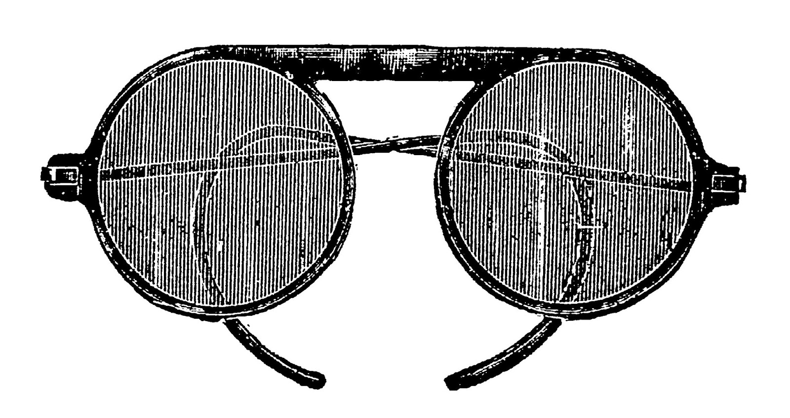 Sunglasses clipart vintage. Digital stamp design goggles