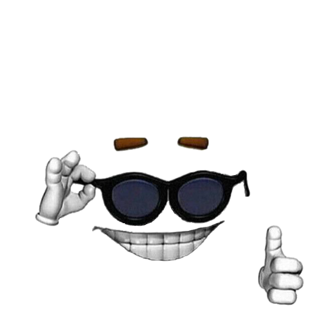 Sunglasses meme png. Picardia template transparent picard