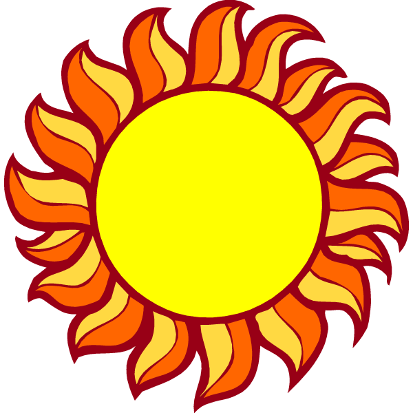Sunlight clipart animated. Sun pictures with the