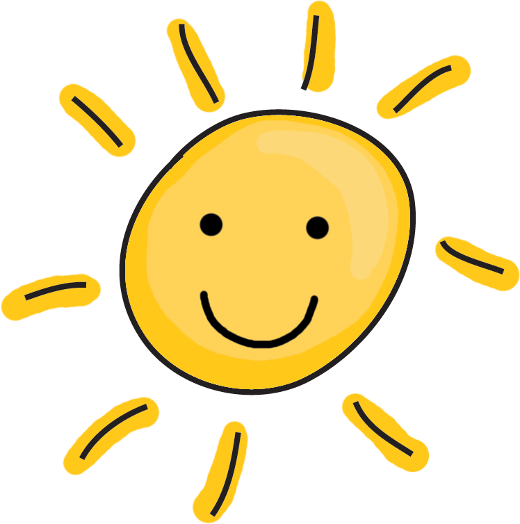 Happy sun png