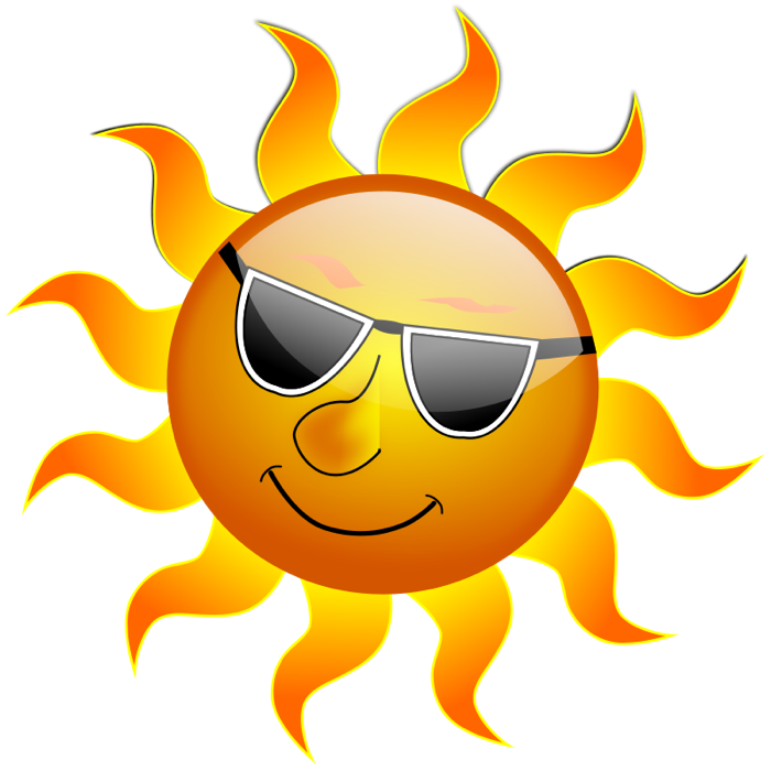 sunny clipart perfect weather