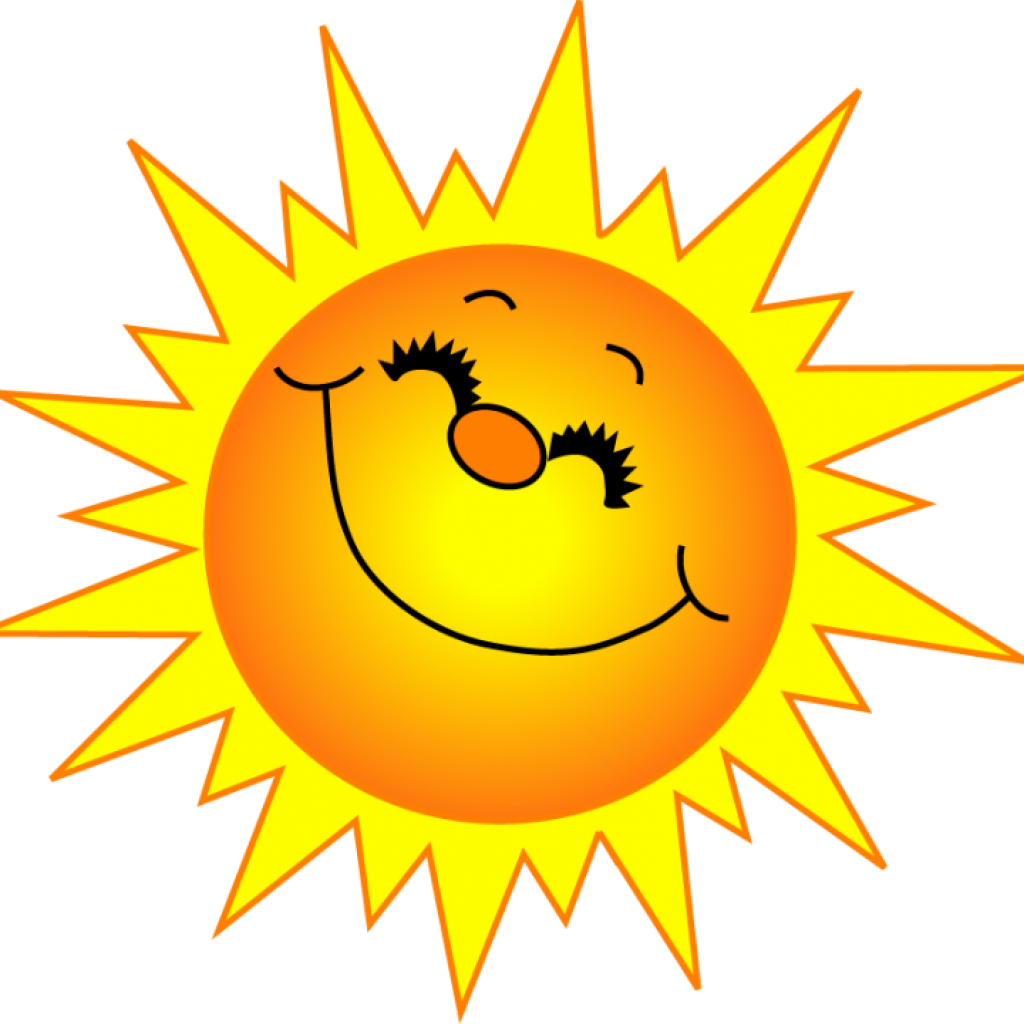 Transparent sunshine smiling. Free clip art clipart