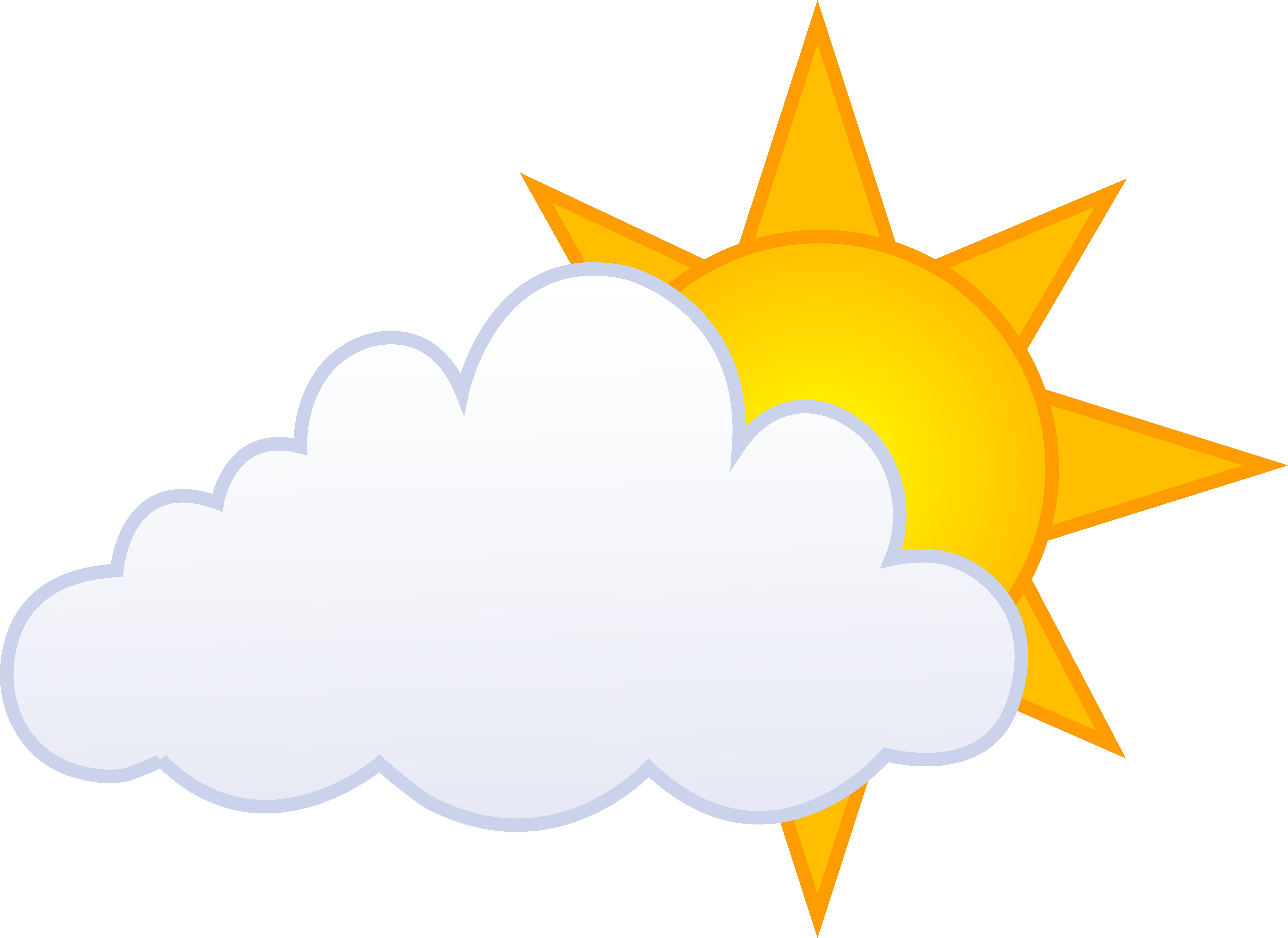 Cloudy clipart dull. Sun and clouds drawing