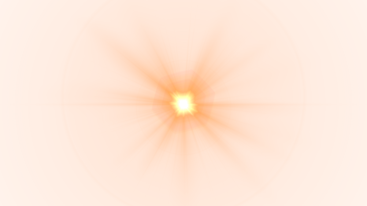 Sunlight flare png. Front yellow lens image