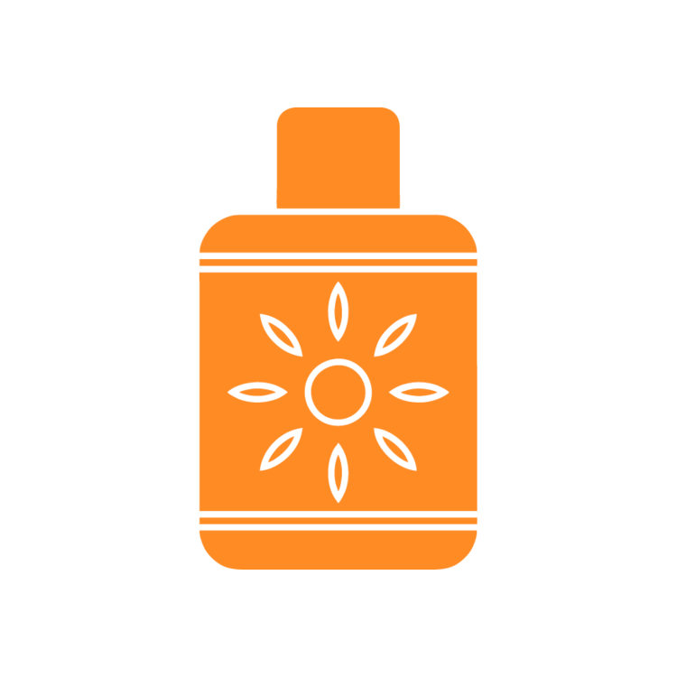 Sunscreen clipart sun tan lotion. Free icons easy to