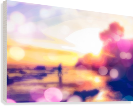 Sunset background png. Summer beach with sky