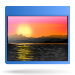 Sunset background png. Actions games config icon