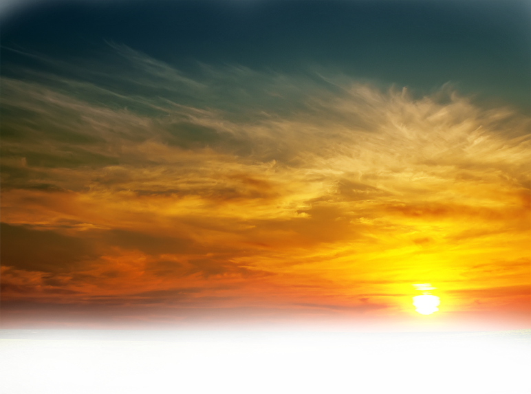 Sunset sky png. Clouds sun background ftestickers