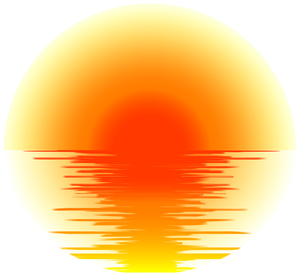 Sunset png transparent