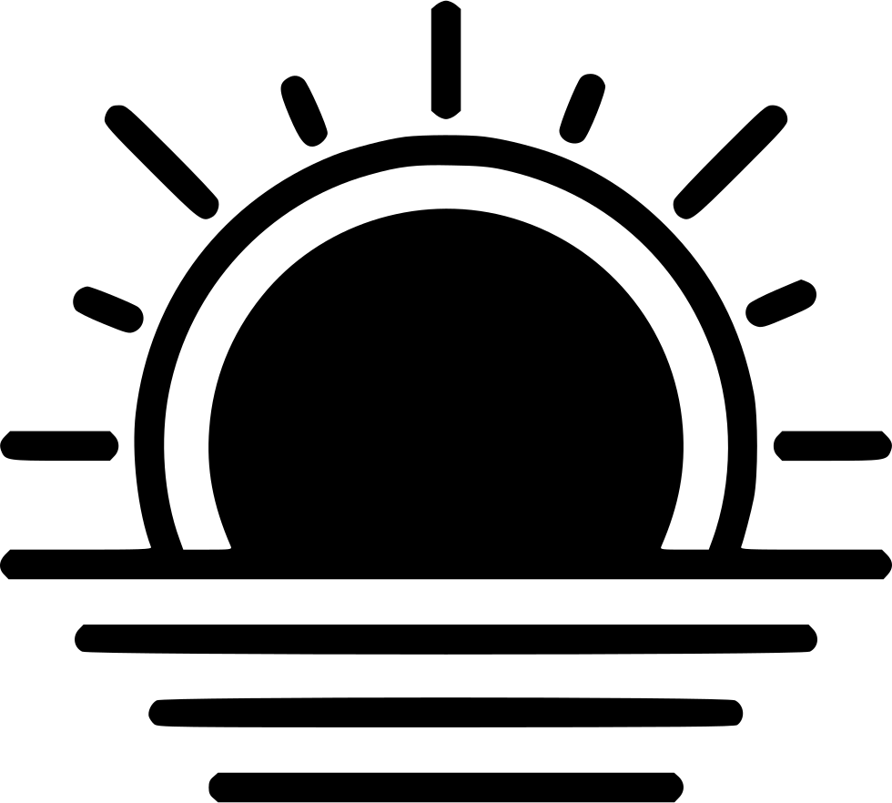 Sunset icon png