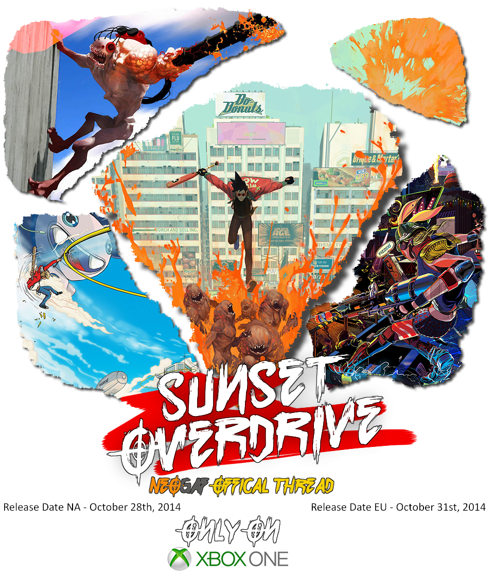 Sunset overdrive png