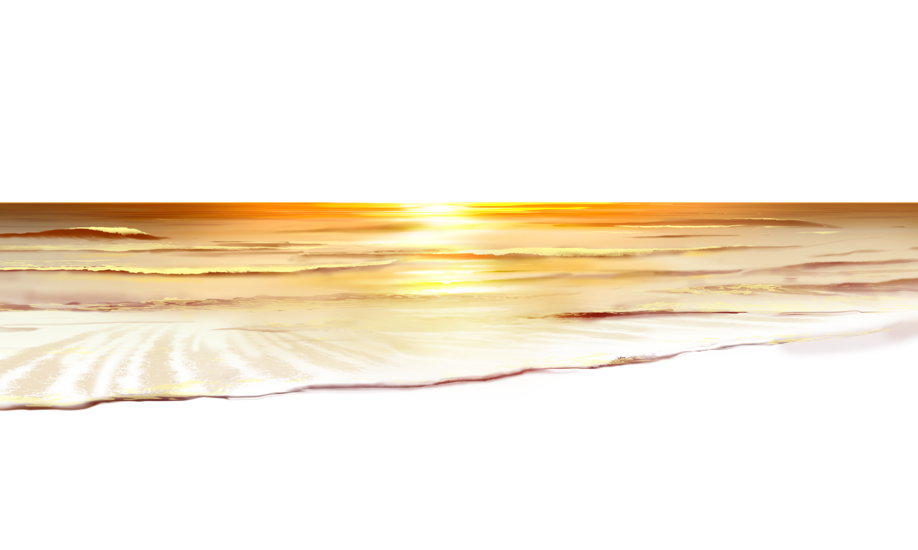 Sunset png image. Sea ground clipart gallery