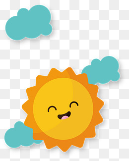 Sunshine clipart cute baby sunshine. Smiling sun png vectors