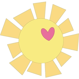 Sunshine clipart cute baby sunshine. Silhouette at getdrawings com