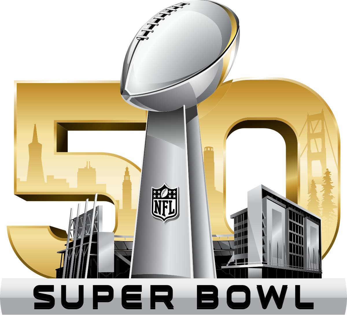 superbowl drawing lombardi trophy