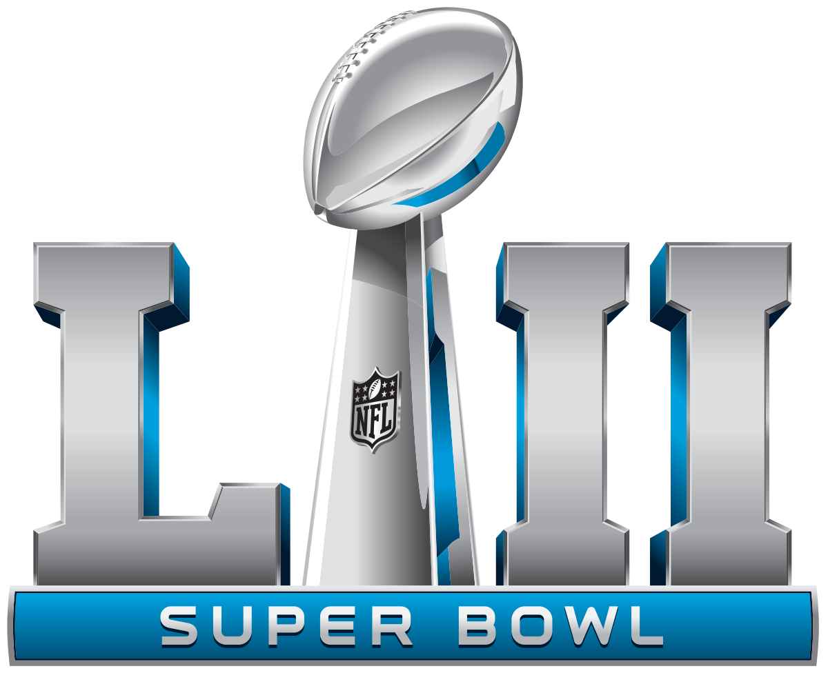 super bowl lii logo png