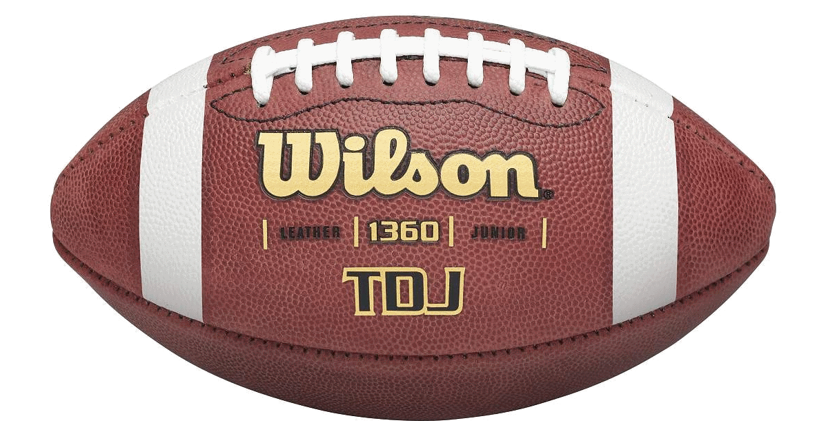 Super bowl ball png. Wilson tdj traditional leather