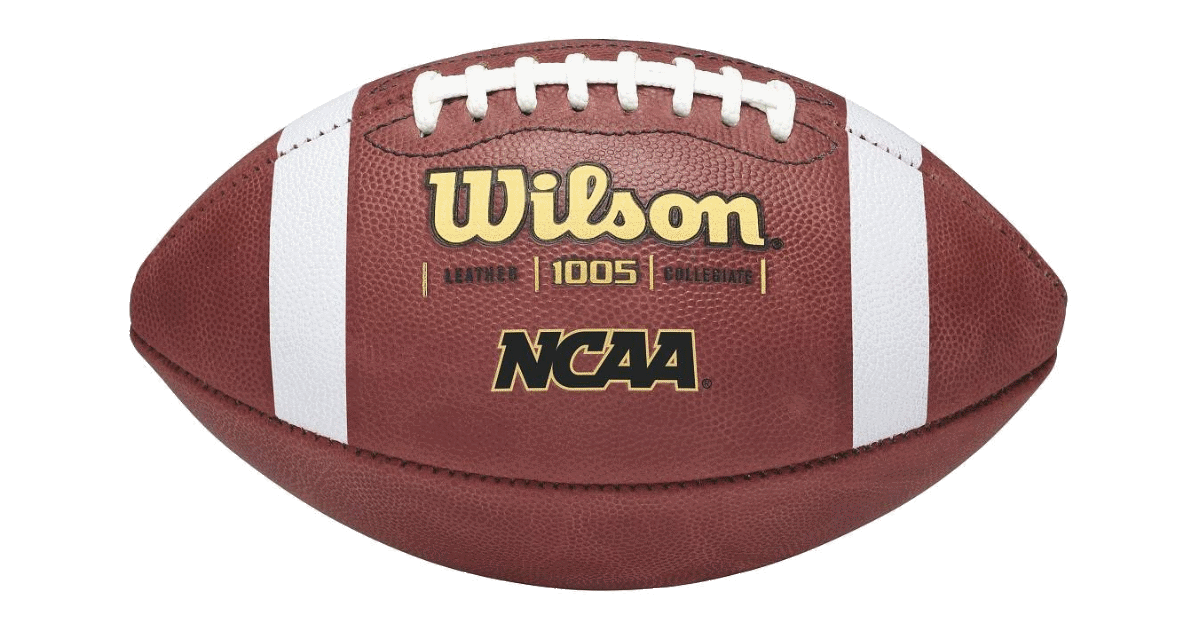 Super bowl football png. Wilson ncaa leather the