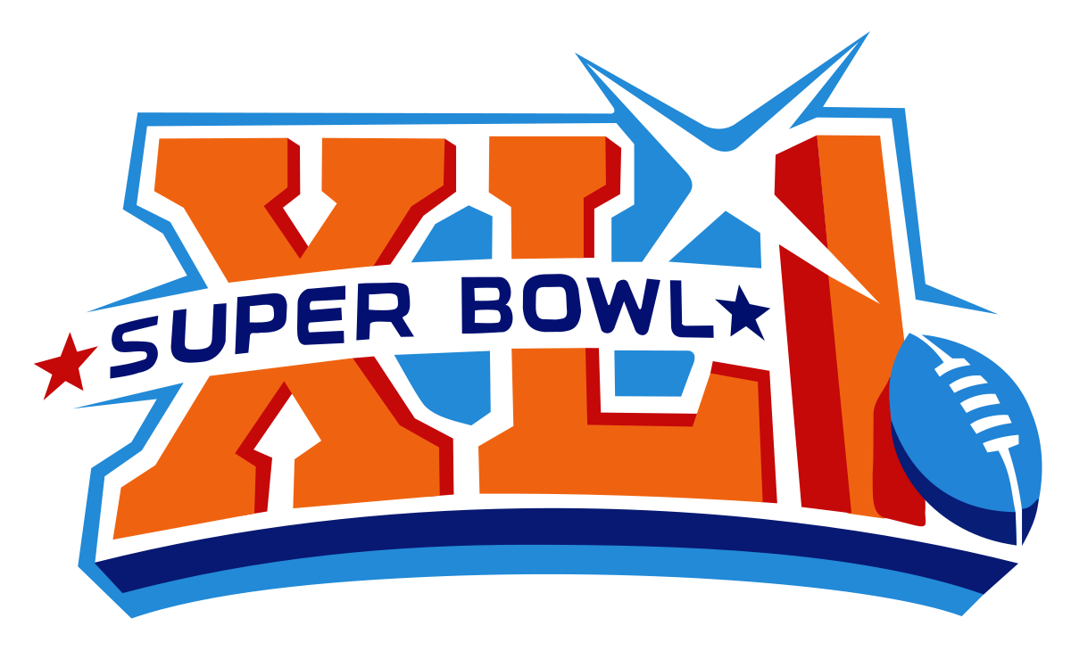 superbowl drawing football trophy