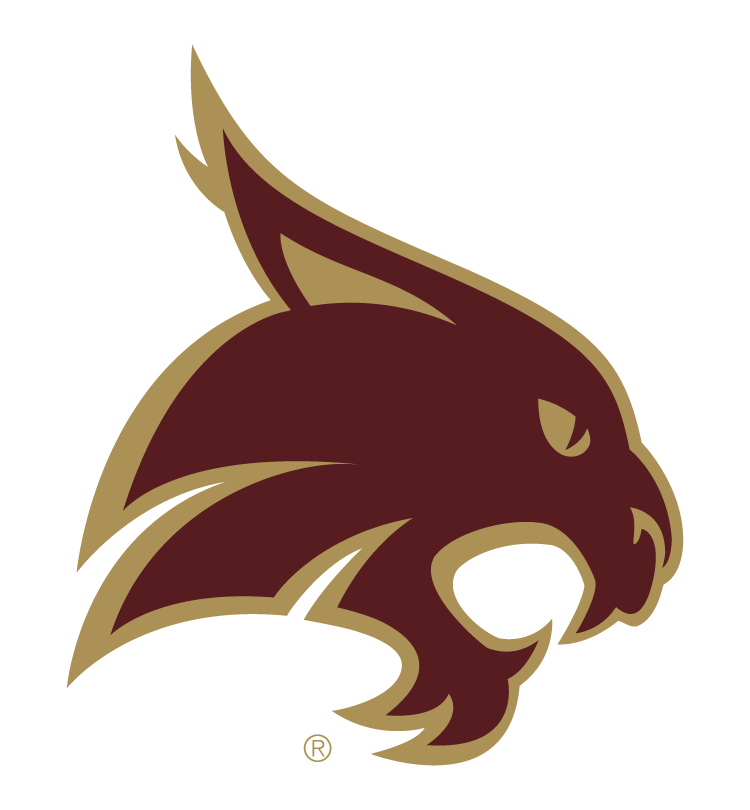 Texas state logo png. Bobcat university learn more