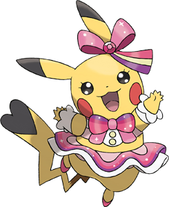 Super clipart pop star. Pikachu popstar pok dex