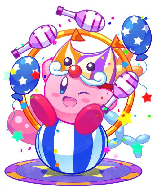 Super clipart pop star. Girlslikematsuoka circus kirby artist