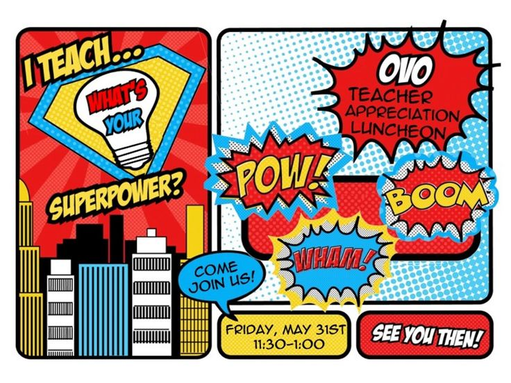 Best superhero week. Super clipart teacher appreciation clipart stock