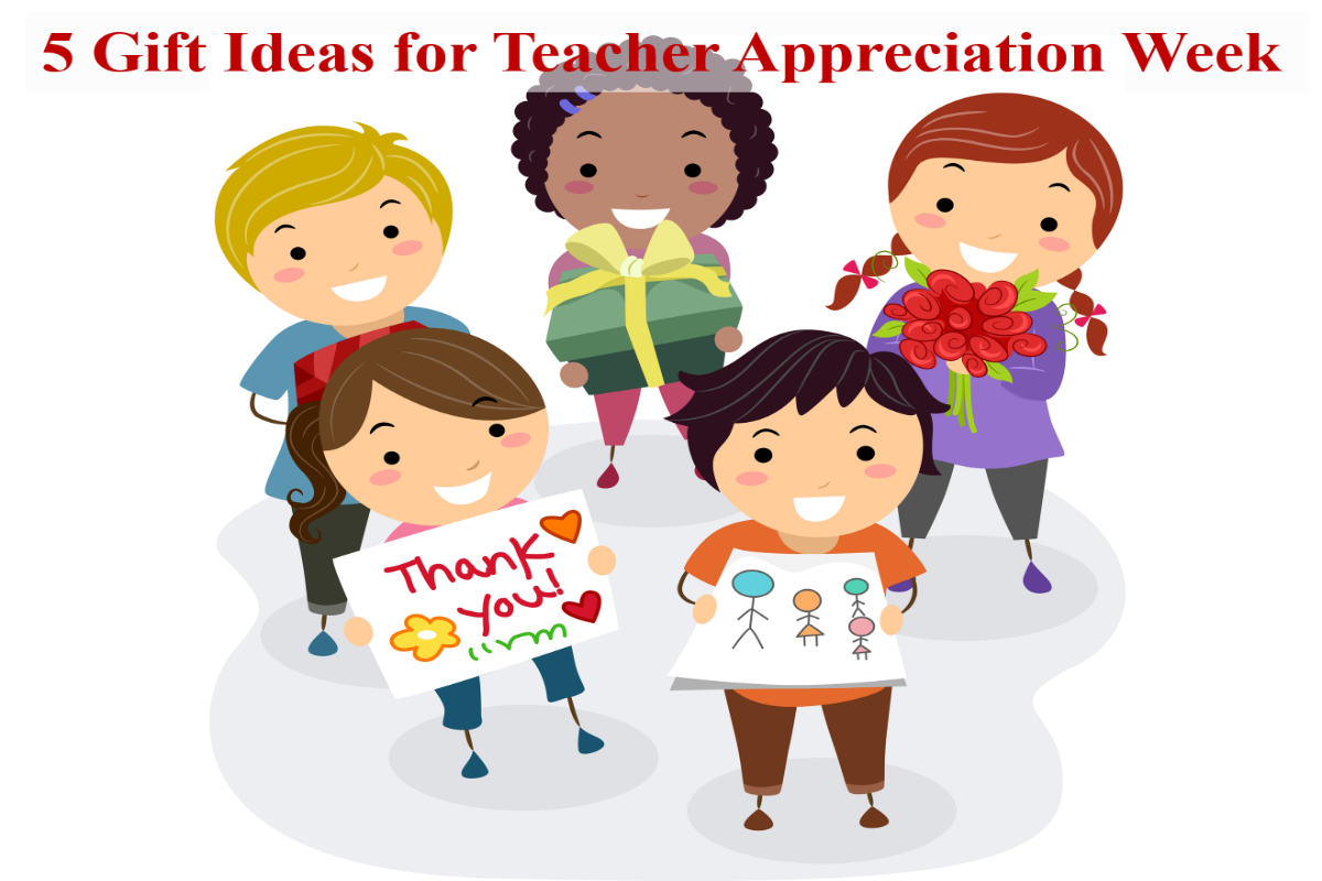 Gift ideas for. 2018 clipart teacher appreciation week jpg black and white