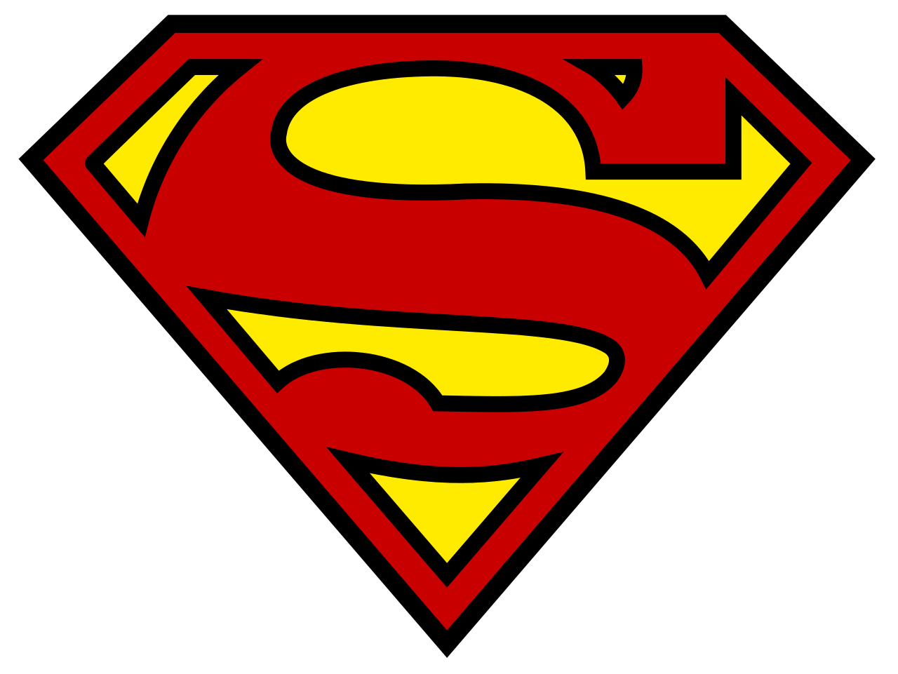 P transparent superman. Logo wikipedia shieldsvg