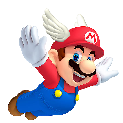 Image wing cap official. Mips clip mario 64 graphic royalty free