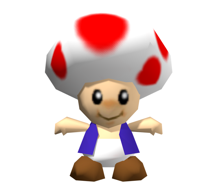 toad transparent n64