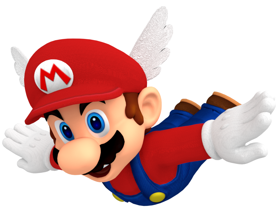Super mario png. Image boxart pose recreation
