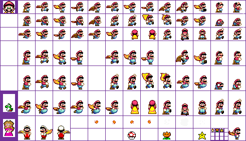 Super mario world sprite png. Official skins page bros