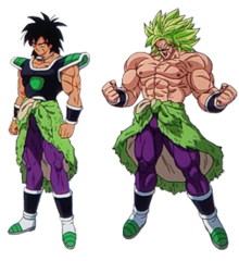 Piccolo face png. Broly wikipedia dbs moviepng