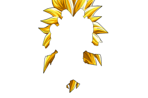Goku super saiyan hair png. Images in collection page
